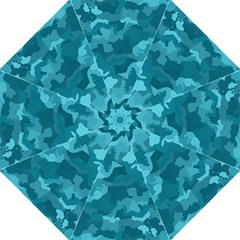 Camouflage Teal Straight Umbrellas by MoreColorsinLife