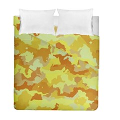 Camouflage Yellow Duvet Cover (Twin Size) by MoreColorsinLife