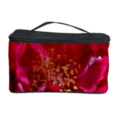 Red Rose Cosmetic Storage Cases by timelessartoncanvas