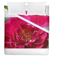 Red Rose Duvet Cover (full/queen Size) by timelessartoncanvas