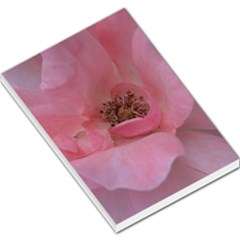 Pink Rose Large Memo Pads by timelessartoncanvas