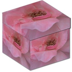 Pink Rose Storage Stool 12