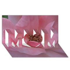 Pink Rose Mom 3d Greeting Card (8x4)  by timelessartoncanvas