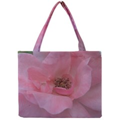 Pink Rose Tiny Tote Bags