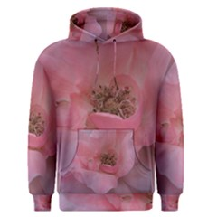 Pink Rose Men s Pullover Hoodies