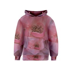 Pink Rose Kid s Pullover Hoodies