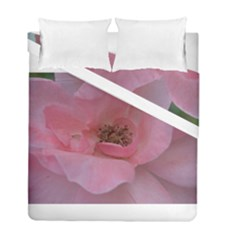 Pink Rose Duvet Cover (Twin Size)