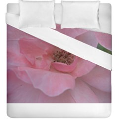 Pink Rose Duvet Cover (King Size)