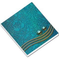 Wonderful Decorative Design With Floral Elements Small Memo Pads by FantasyWorld7
