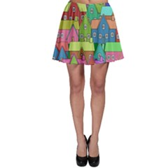 House 001 Skater Skirts by JAMFoto