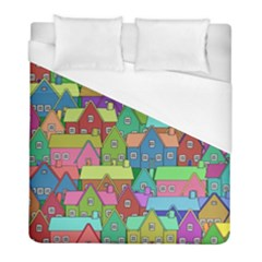 House 001 Duvet Cover Single Side (Twin Size) by JAMFoto