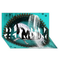 Beautiful Horse With Water Splash  #1 Mom 3d Greeting Cards (8x4)