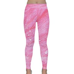 Pink Yoga Leggings by timelessartoncanvas