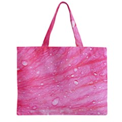 Pink Zipper Tiny Tote Bags by timelessartoncanvas
