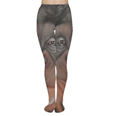 Menschen   Interesting Species! Women s Tights by timelessartoncanvas