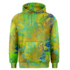 Abstract In Blue, Green, Copper, And Gold Men s Pullover Hoodies by theunrulyartist