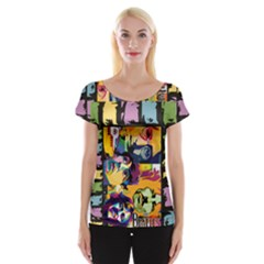 Beatles Women s Cap Sleeve Top by DryInk