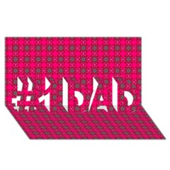 Cute Pattern Gifts #1 Dad 3d Greeting Card (8x4)