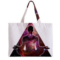 Deep Meditation #2 Zipper Tiny Tote Bags by Lab80