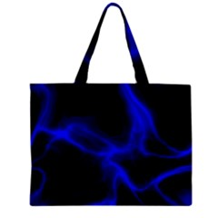 Cosmic Energy Blue Zipper Tiny Tote Bags by ImpressiveMoments