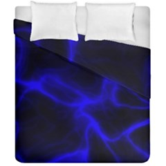 Cosmic Energy Blue Duvet Cover (double Size) by ImpressiveMoments