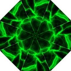 Cosmic Energy Green Folding Umbrellas by ImpressiveMoments