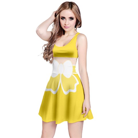 Reversible Sleeveless Dress Front