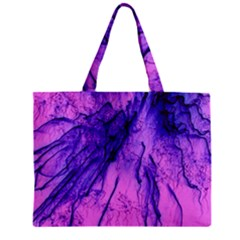 Special Fireworks Pink,blue Zipper Tiny Tote Bags by ImpressiveMoments
