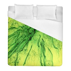 Special Fireworks, Green Duvet Cover Single Side (twin Size) by ImpressiveMoments