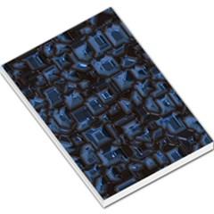 Metalart 23 Blue Large Memo Pads