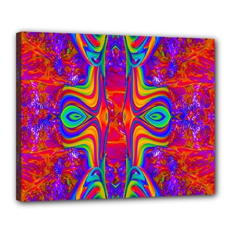 Abstract 1 Canvas 20  X 16  by icarusismartdesigns