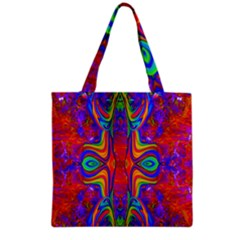 Abstract 1 Grocery Tote Bags by icarusismartdesigns