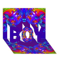 Abstract 2 Boy 3d Greeting Card (7x5) by icarusismartdesigns