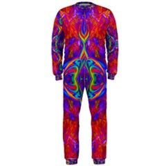 Butterfly Abstract OnePiece Jumpsuit (Men)