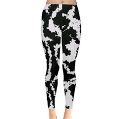 Migraine Bw Winter Leggings by MoreColorsinLife