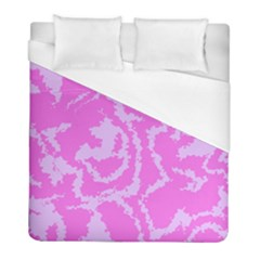 Migraine Pink Duvet Cover Single Side (twin Size) by MoreColorsinLife