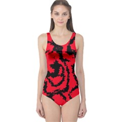 Migraine Red Women s One Piece Swimsuits by MoreColorsinLife