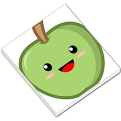 Kawaii Green Apple Small Memo Pads by KawaiiKawaii