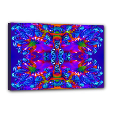 Abstract 4 Canvas 18  X 12  by icarusismartdesigns