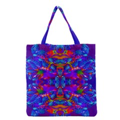 Abstract 4 Grocery Tote Bags by icarusismartdesigns