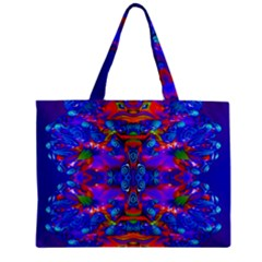 Abstract 4 Tiny Tote Bags by icarusismartdesigns