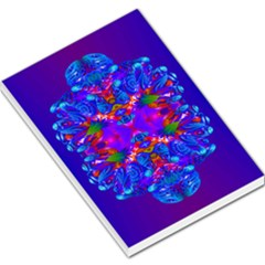 Abstract 5 Large Memo Pads by icarusismartdesigns