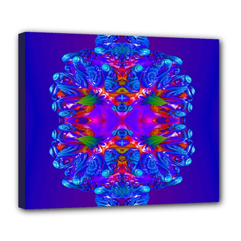 Abstract 5 Deluxe Canvas 24  X 20   by icarusismartdesigns