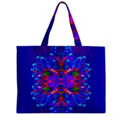 Abstract 5 Zipper Tiny Tote Bags by icarusismartdesigns