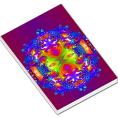Abstract 6 Large Memo Pads by icarusismartdesigns