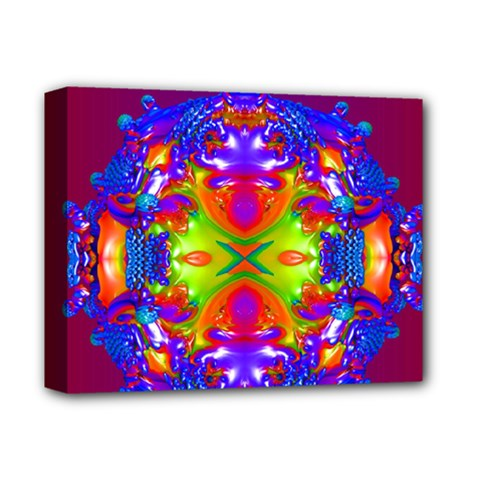 Abstract 6 Deluxe Canvas 14  X 11  by icarusismartdesigns