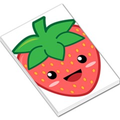 Kawaii Strawberry Large Memo Pads by KawaiiKawaii