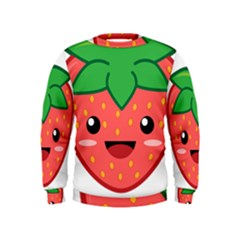 Kawaii Strawberry Boys  Sweatshirts