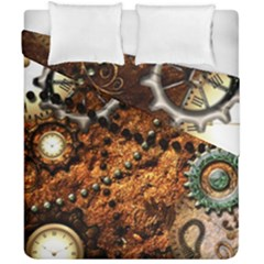 Steampunk In Noble Design Duvet Cover (double Size) by FantasyWorld7