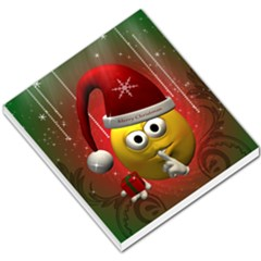 Funny Christmas Smiley Small Memo Pads by FantasyWorld7
